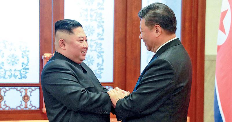 習晤金正恩  支持無核化朝美峰會  回應朝鮮邀訪  外交部:有消息即公布
