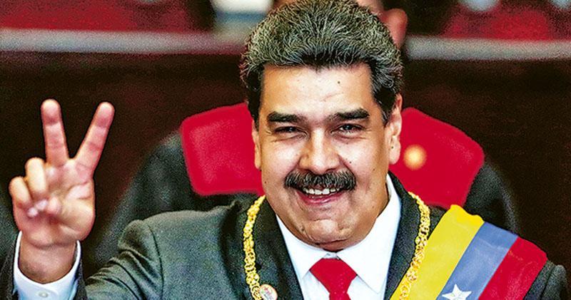 左右兩極專制領袖 威脅拉美民主 委總統馬杜羅連任就職 與巴西面臨惡鬥