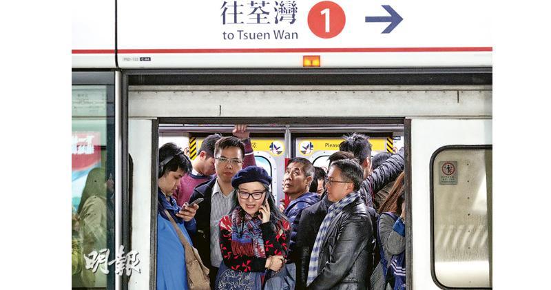 荃灣線轉信號系統 港鐵預告故障多  車門月台或「錯位」  列車延誤