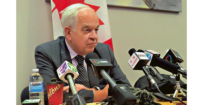 特朗普干預  治外法權  加拿大沒制裁伊朗  加國大使:孟晚舟可提3抗辯理由拒引渡