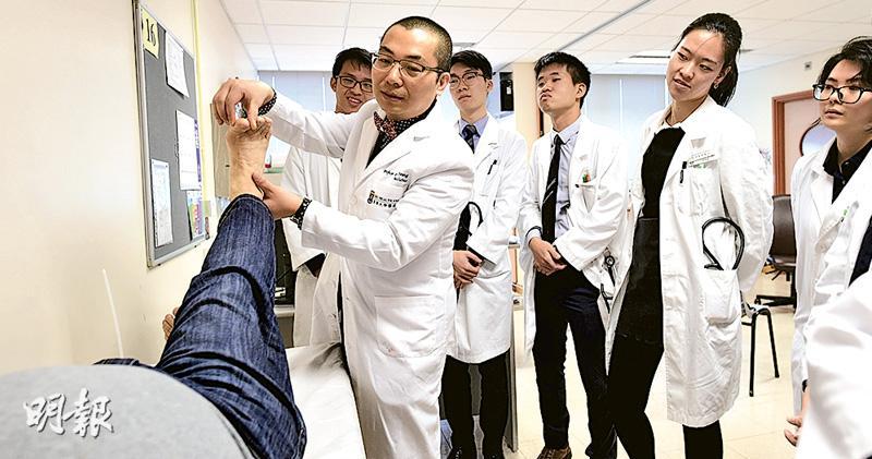 特稿:醫科生病房學習 「有時看不到病人」 醫學額10年升九成 學生有如擠迫戶