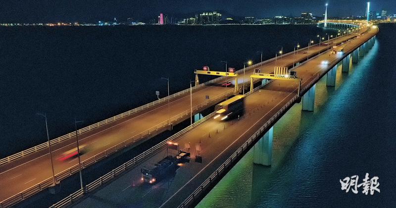 通車12年 深圳灣大橋斷鋼纜 路署認不常見 檢查全港同類橋