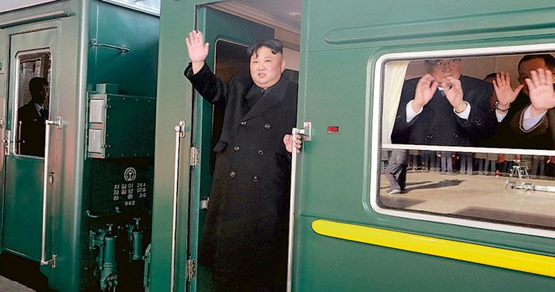 美盼越南模式吸引朝鮮改革開放  峰會在即  金正恩乘專列赴越