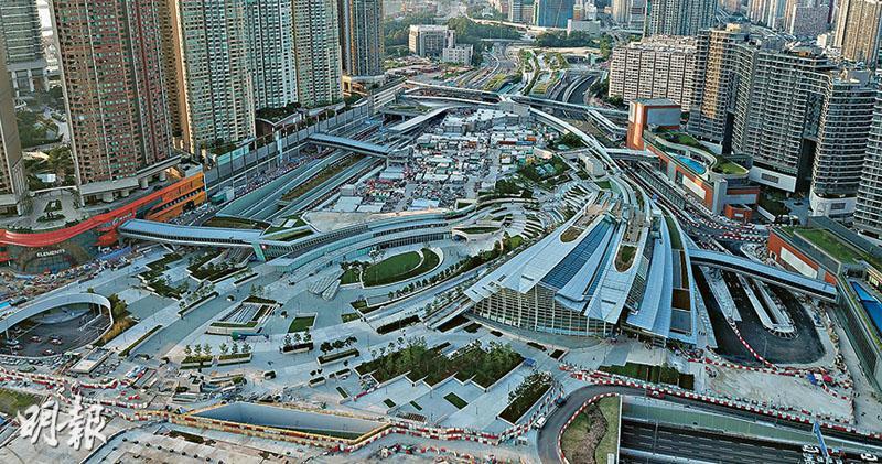 千億高鐵西九站上蓋地不斬件  可建316萬呎樓面 最快今年第3季推出