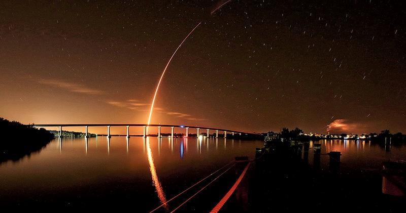 美私人載人飛船首試射 今抵太空站 盼今年送人升空 擺脫依賴俄羅斯