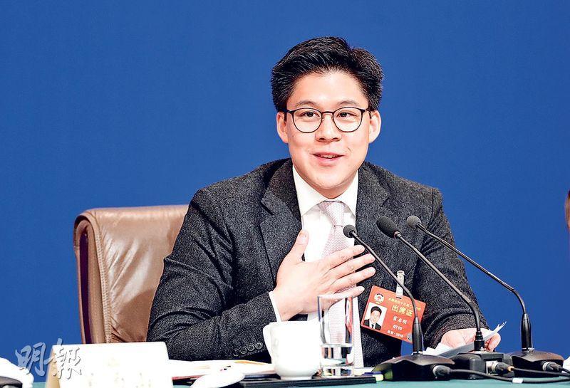 全國政協委員霍啟剛噚日喺記者會話,唔希望再用「北上」形容大灣區。(中新社)