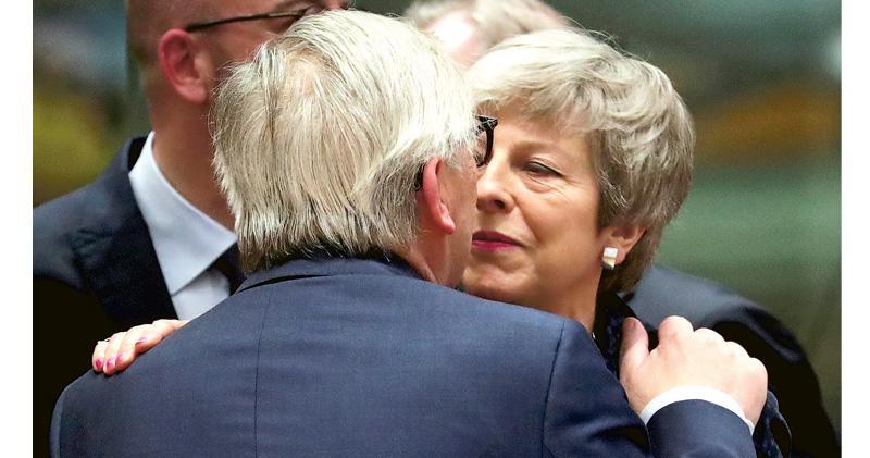 歐盟允英押後脫歐 4‧12定前路 英內閣憂硬脫歐風險變「真實」