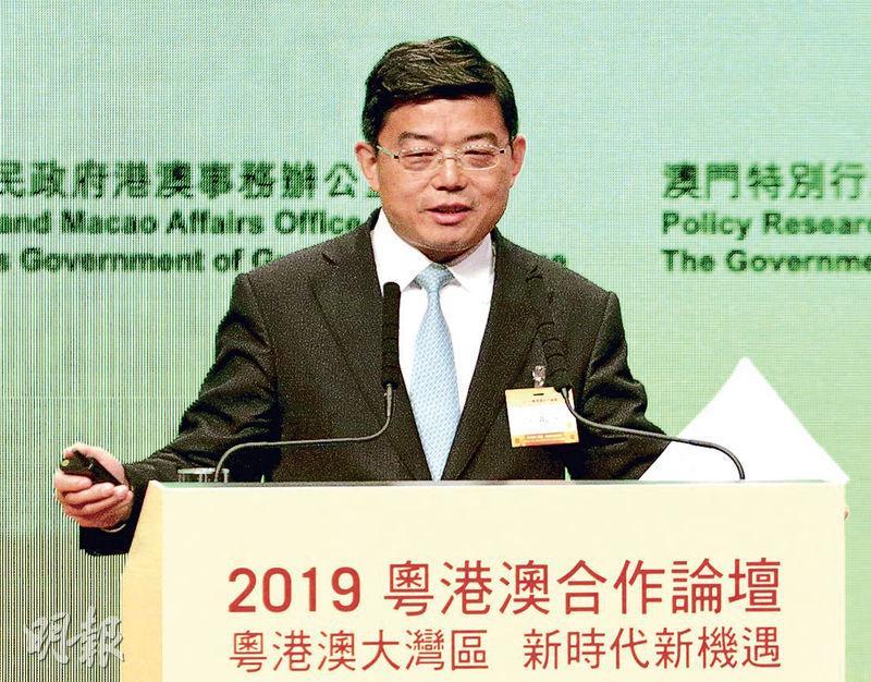 香港中聯辦法律部前部長、現為清華大學港澳研究中心主任的王振民(圖)昨稱,回歸逾20年才建設大灣區,「做比不做好」。