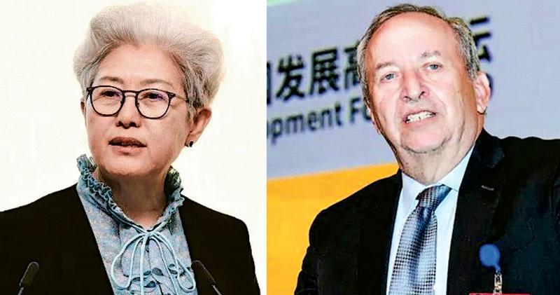 前高官論壇交鋒 美前財長指華「如少年拒擔責」  傅瑩:美應學會接受中國領導角色
