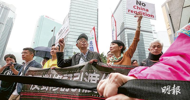 遊行反修例聲響  民陣擬發動圍立會  大會稱1.2萬人  警稱高峰時5200
