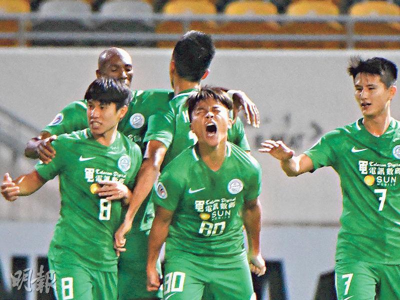 大埔挫傑志響亞協頭炮 4:2贏香港打吡 李志堅:決心成關鍵