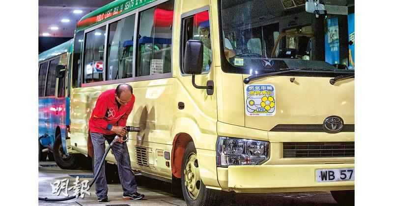 石油氣小巴將停產 3000輛轉回柴油 污染料惡化 成本增勢加價