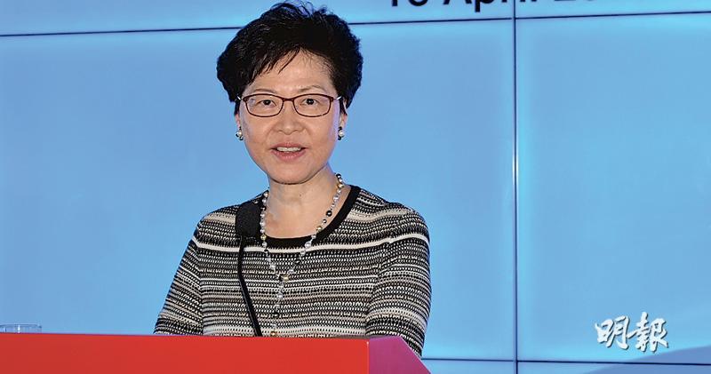 林鄭交民族黨報告:續禁港獨活動 應中央要求提交 兩附件未公開
