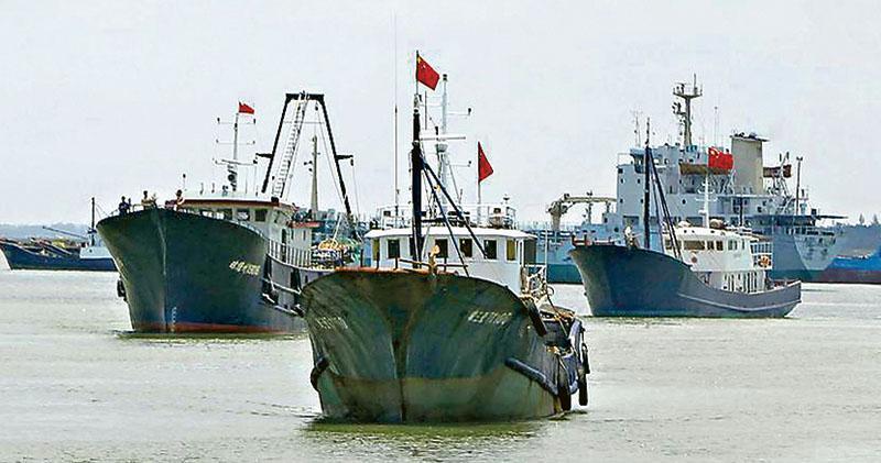 美軍上將警告中國 海警漁船視同海軍