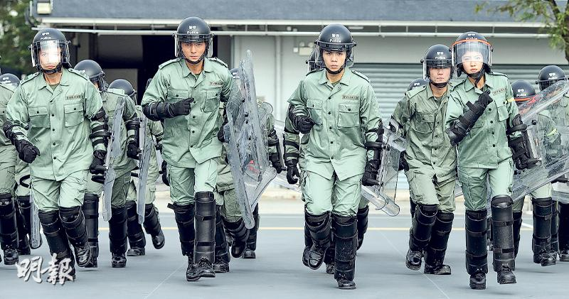 逾百阿sir參演《機動部隊2019》 TVB炮製真警察故事搶收視