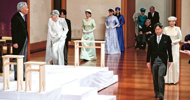 明仁寄望令和新氣象 兩代日皇 傳承和平