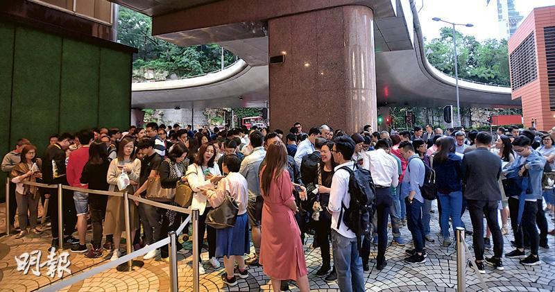 3新盤共沽逾千伙 32月最旺周末 MONTARA揀樓人龍排出廣東道