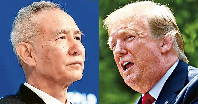 劉鶴率團赴華盛頓  周四續談判  美指出爾反爾  華:分歧很正常