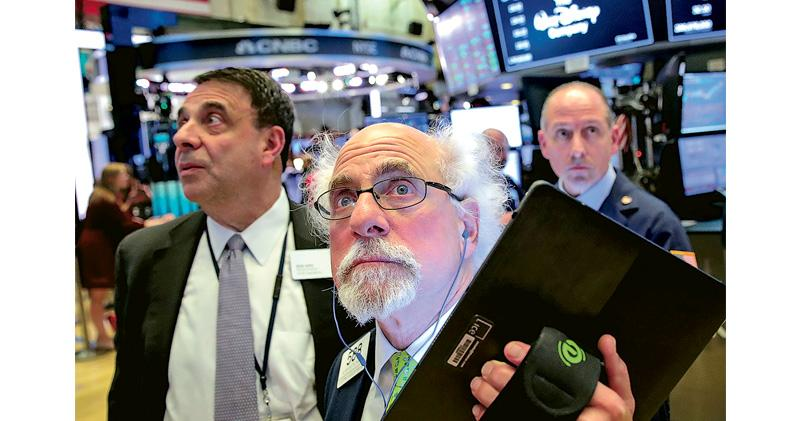特朗普讚談判坦誠 美股倒升 道指低位反彈近500點 終止4連跌