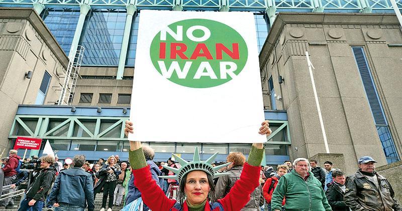 應對伊朗  美擬派兵12萬方案  鷹派博爾頓主張  白宮內部分歧
