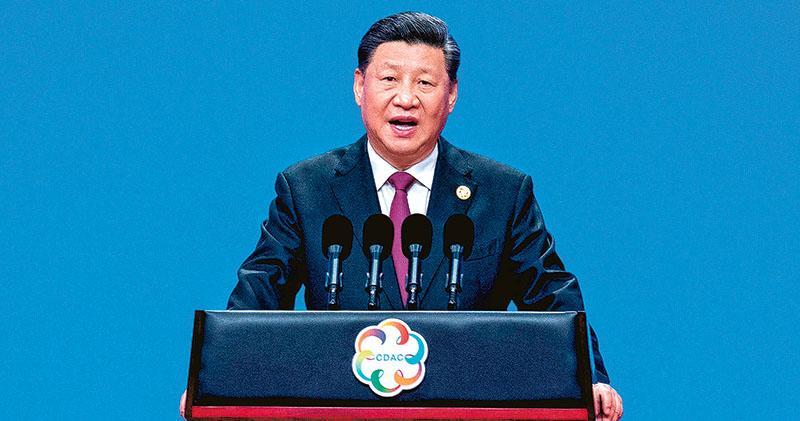 亞洲文明對話大會昨日在北京開幕,中國國家主席習近平出席開幕式並發表主旨演講,他表示「人類文明絕無高低優劣之分,認為自己的人種和文明高人一等,執意改造甚至取代其他文明,在認識上是愚蠢的,在做法上是災難性的」。(網上圖片)