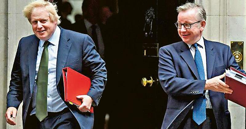 英揆爭奪戰白熱化 約翰遜成箭靶 曾聲言硬脫歐 惹黨內溫和派不滿