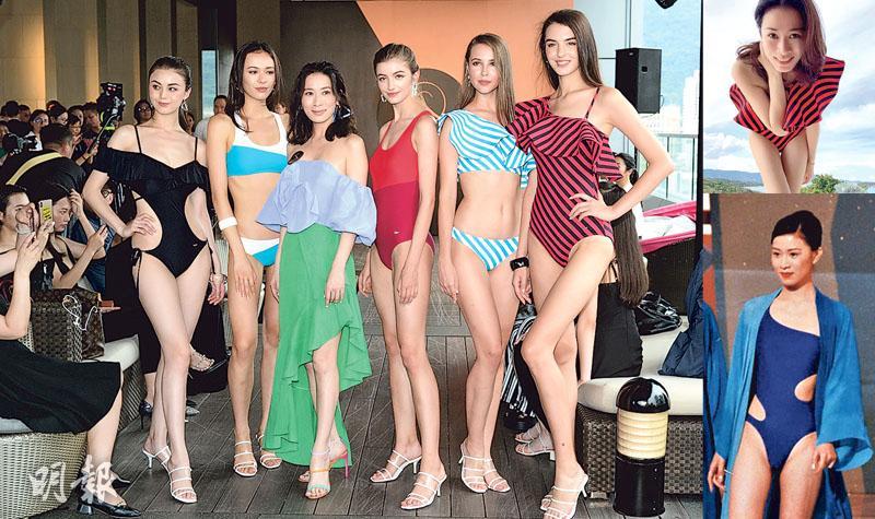 佘詩曼示範自家泳裝曬性感 粉絲讚索過22年前選港姐
