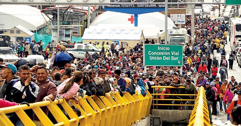 秘魯收緊移民法 委國人搶閘入境 人數平日3倍 天主教領袖:鼓勵非法入境