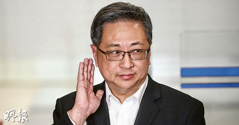 盧偉聰:沒說整個事件是暴動  5人涉暴動被捕  民陣批仍沒撤定性