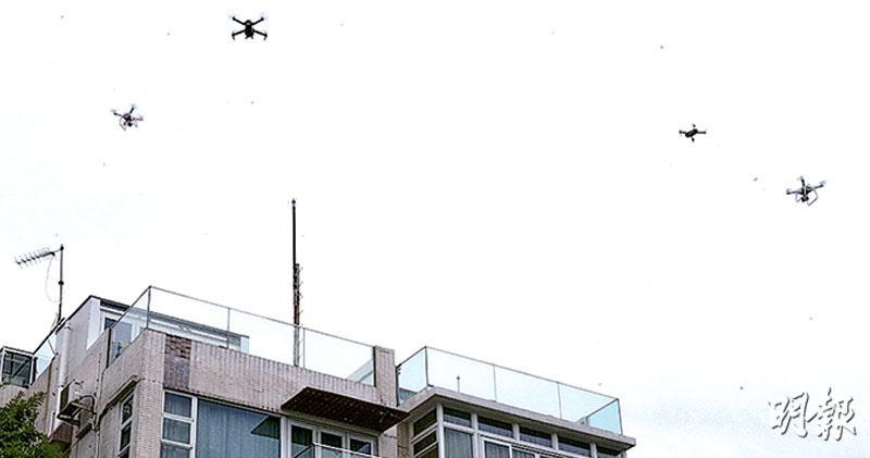立法管無人機  超250克須註冊投保  共分3類  超7公斤要培訓考核