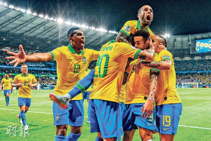 阿根廷吞巴西兩蛋 26年無冠 美斯批森巴兵獲球證偏幫入決賽