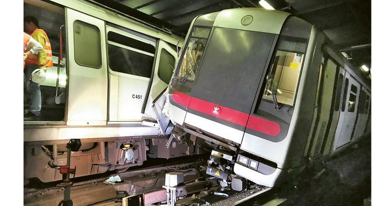 港鐵撞車前 顧問三度質疑系統安全 未叫停測試肇禍 報告指軟件設計三大錯
