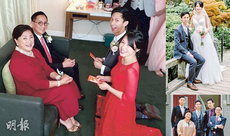 二仔徐肇麟加國娶老婆 黃淑儀榮升奶奶:等到頸都長