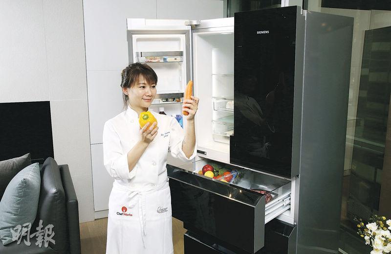 因應食材保最佳濕度 聰明雪櫃 蔬果肉類常鮮