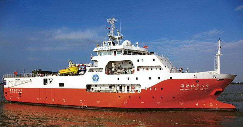 中國南海勘探石油  越南派船阻撓  主權爭議水域  雙方海警船對峙