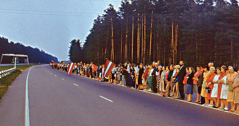 世局解碼:昔求獨立 今防俄國假資訊戰 「波羅的海之路」30周年 抗爭未完