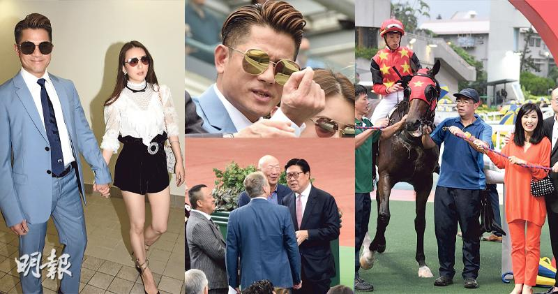 米雪拉頭馬預祝64歲生日 愛駒跑第2獎金15萬 郭富城滿意