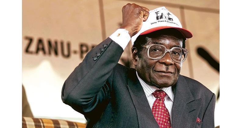 昔解殖英雄 津巴布韋掌權37年 國父變獨裁者 穆加貝病逝