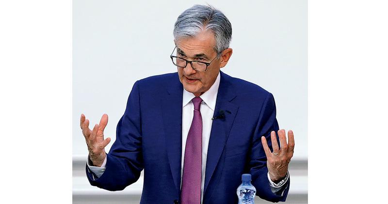 鮑威爾︰美國及全球經濟不虞衰退 避險情緒降 美債息不再倒掛