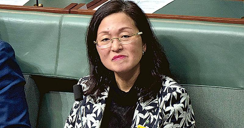 港產澳洲女議員被指與中共有關連  廖嬋娥惹國會連日質詢  總理斥指控抹黑