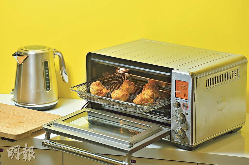 炸雞 焗麵包 烤薄餅 氣炸鍋焗爐合體 一機二用