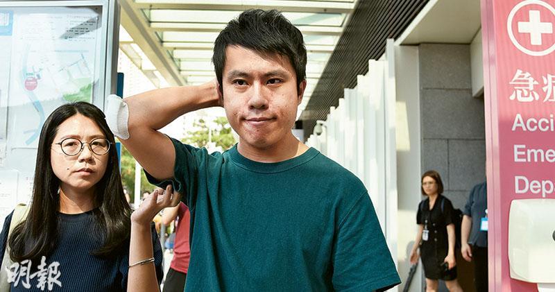 4漢伏擊鄺俊宇 邊打邊拍片 再有民選議員遇襲 政府:警會嚴正跟進