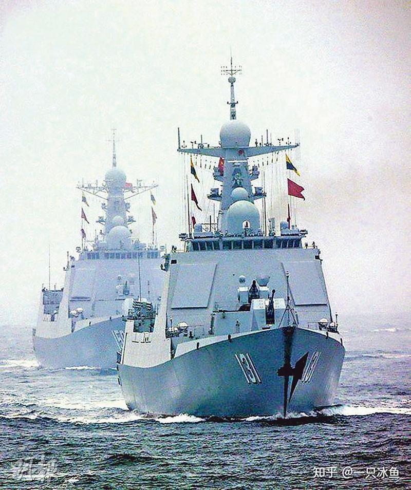 目前於東海艦隊服役的太原號驅逐艦(舷號131)昨日從舟山起航,應邀前往日本參加國際艦隊閱艦式。(網上圖片)