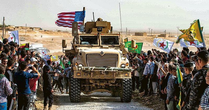 美坐視土耳其征剿 敘境庫族轟背信 ISIS俘虜去向惹憂慮 區內恐添亂