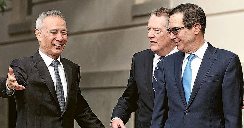 中美擬先達匯率協議  劉鶴:抱極大誠意磋商