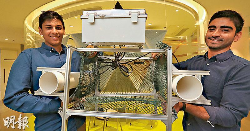 港大生上月揚威國際賽  清膠海上機械人可DIY