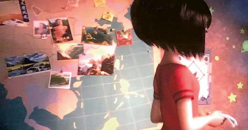 《長毛雪寶》畫面涉南海主權爭議  中美合拍動畫現「十段線」  越南撤映