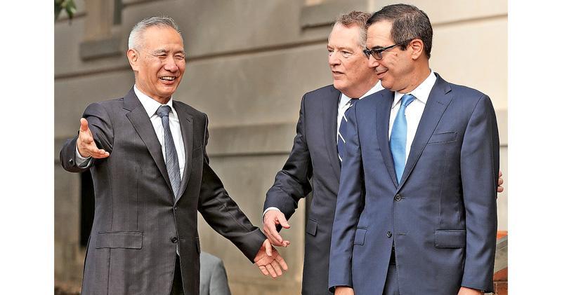 劉鶴與美方通話順利 首階段協議磋商完成