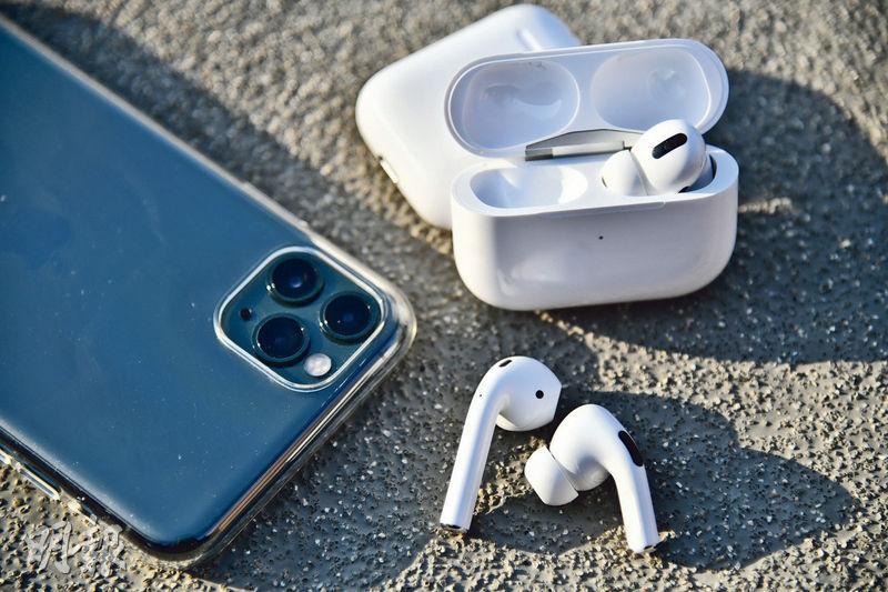 幾何設計 消噪隔雜音  新AirPods貼耳貼心