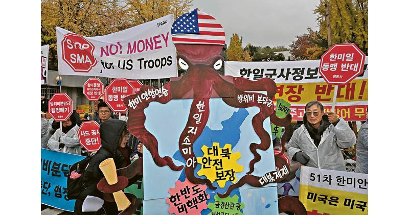 特朗普索韓5倍駐軍費 增至每年368億 憂加深美韓隔閡 專家:或是撤軍藉口